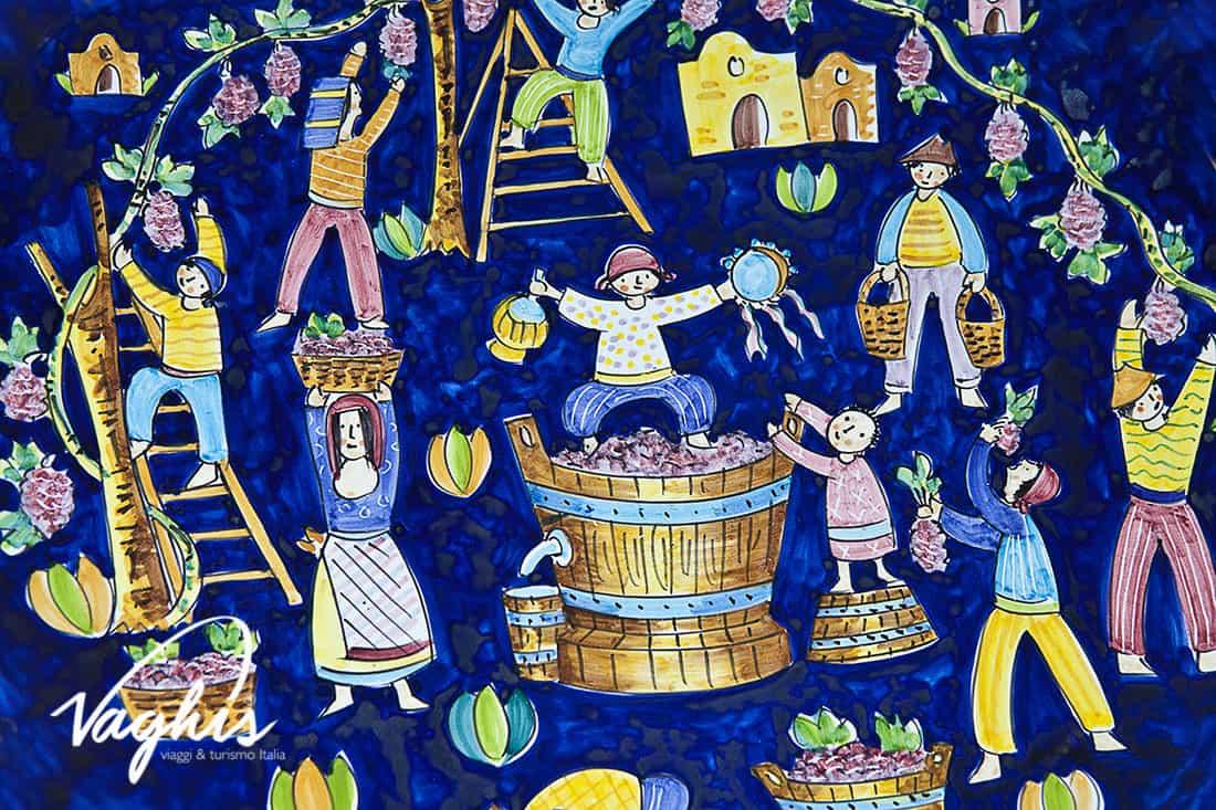 Vietri sul Mare: Le ceramiche dipinte a mano - © Vaghis viaggi & turismo Italia - Tutti i diritti riservati