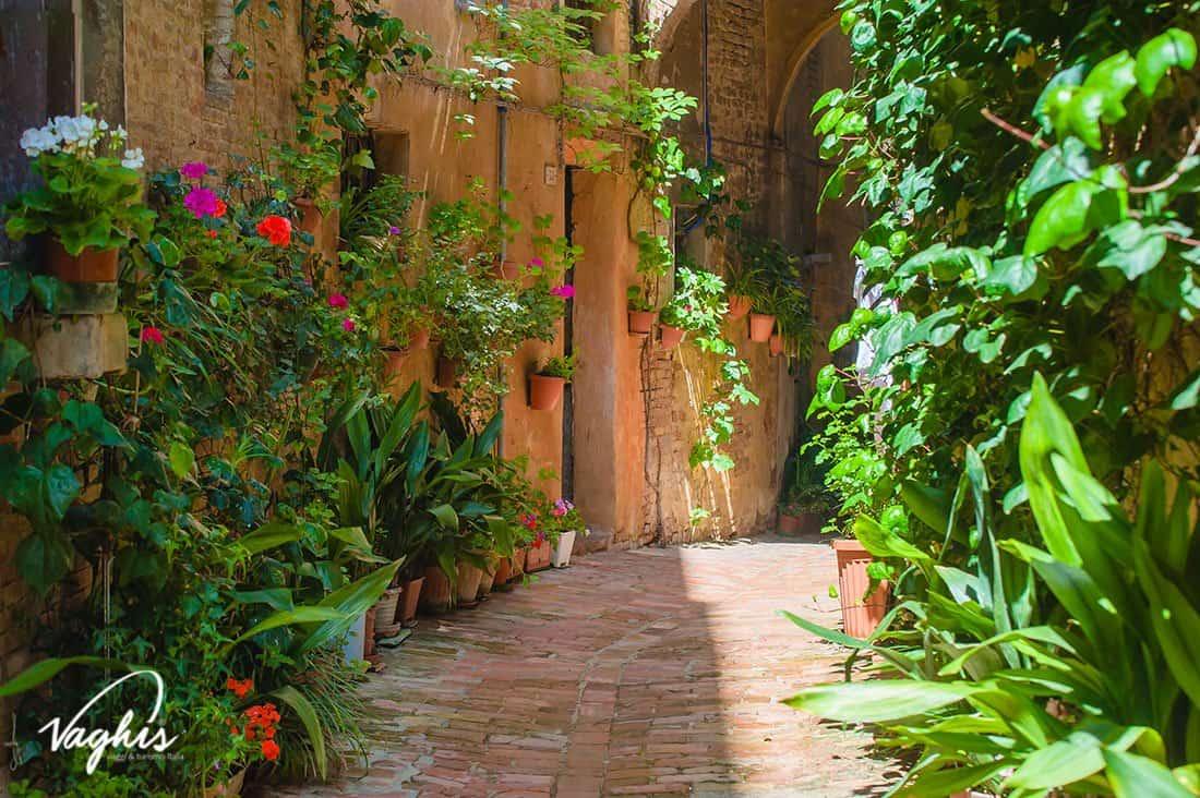 Siena: Le vie del centro storico - © Vaghis - viaggi & turismo Italia - Tutti-i-diritti riservati