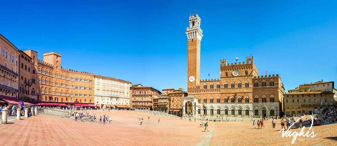 Siena: Piazza del Campo - © Vaghis - viaggi & turismo Italia - Tutti-i-diritti riservati