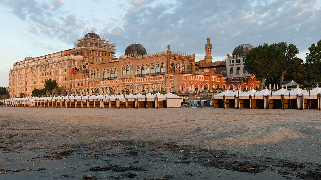 Lido di Venezia: Hotel Excelsior