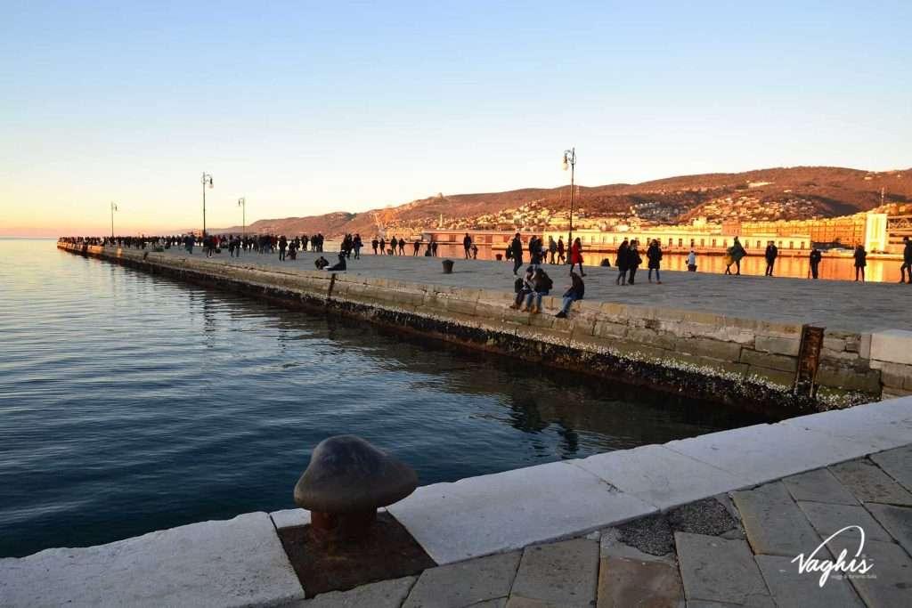 Il Molo Audace di Trieste - © Vaghis - viaggi & turismo Italia - Tutti i diritti riservati