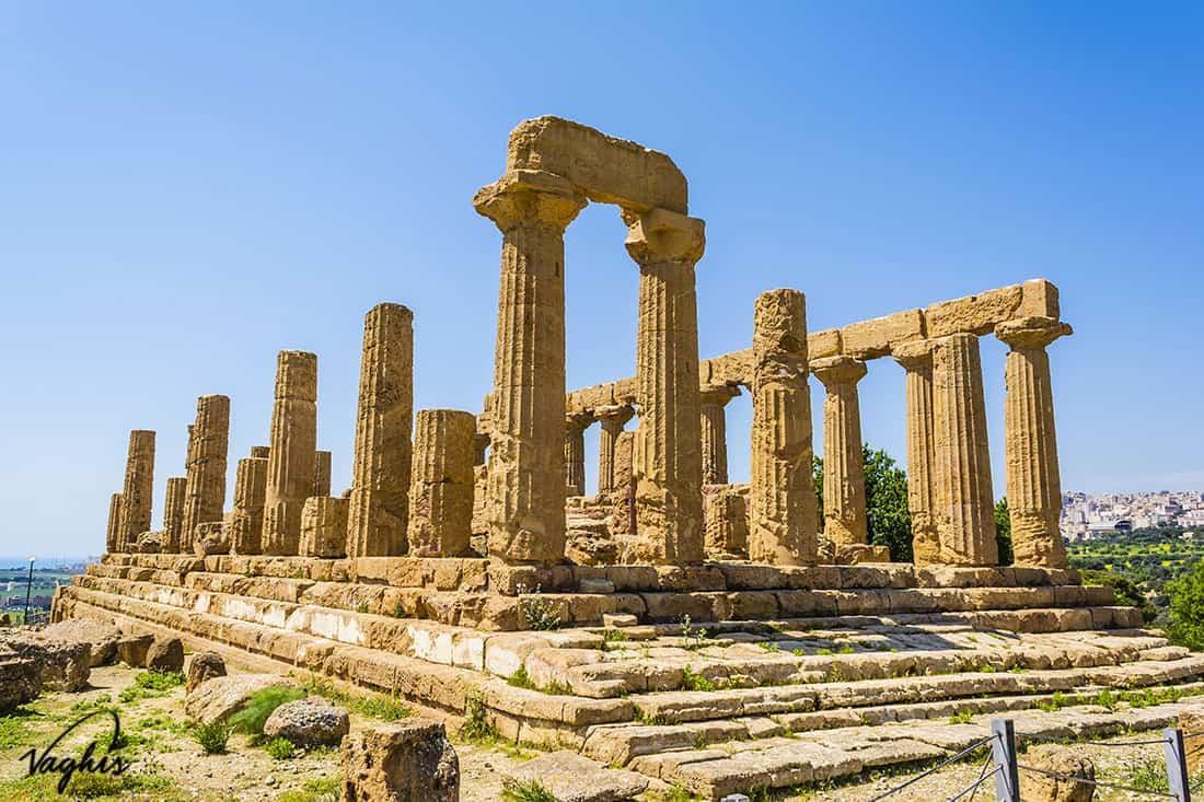 Agrigento: Tempio di Giunone - © Vaghis - Viaggi & turismo Italia - Tutti i diritti riservati