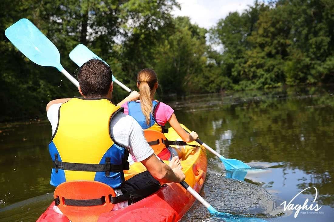 Canoa fiume Biferno - © Vaghis - Viaggi & turismo Italia - Tutti i diritti riservati