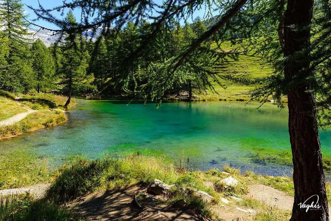 Lago di Layet - © Vaghis - Viaggi & turismo Italia - Tutti i diritti riservati
