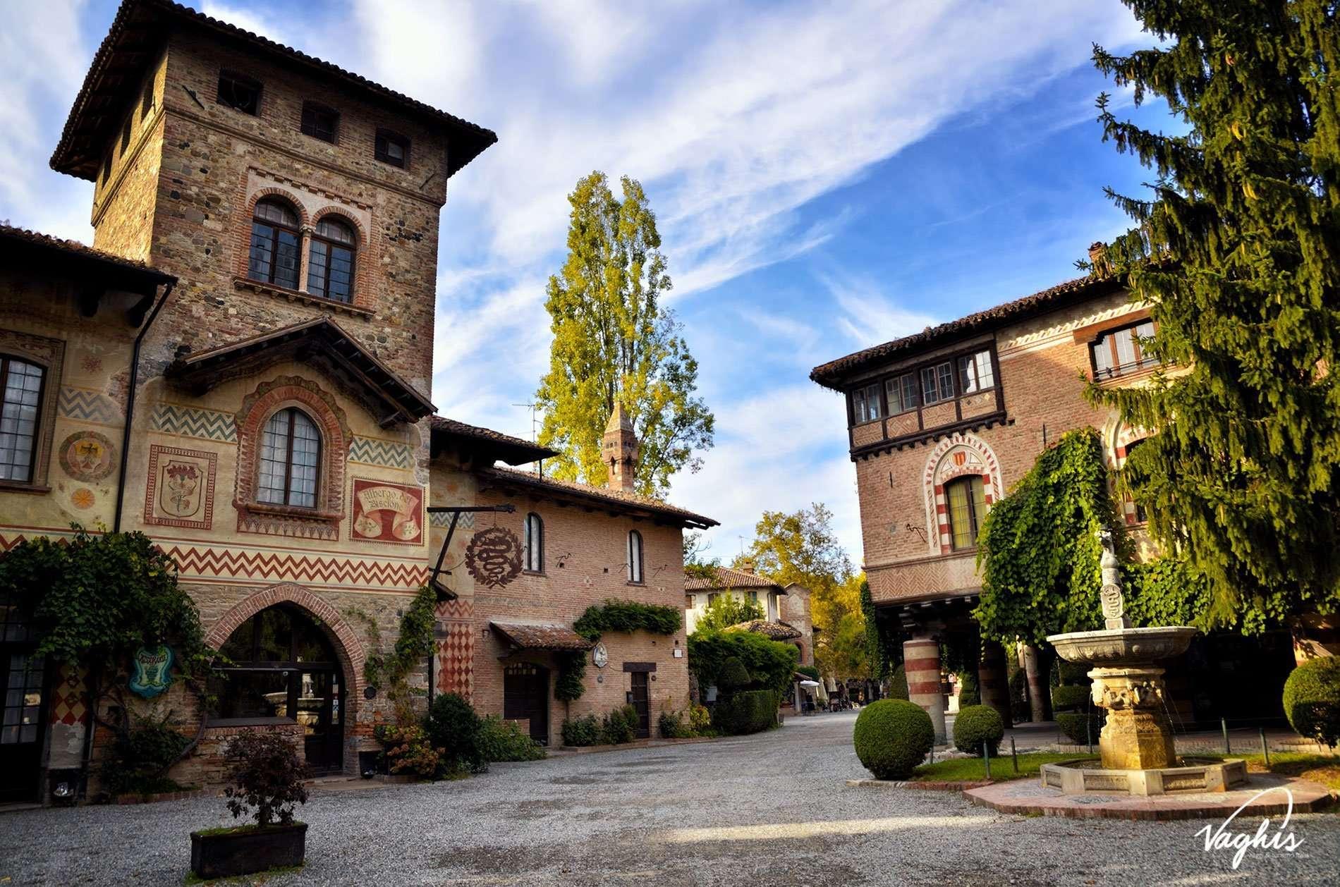 Grazzano Visconti - © Vaghis - Viaggi & turismo Italia - Tutti i diritti riservati