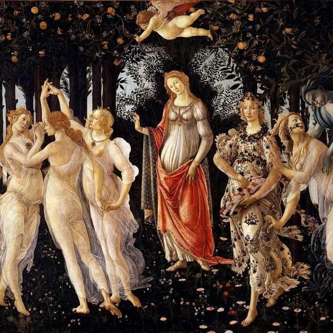 La Primavera di Botticelli