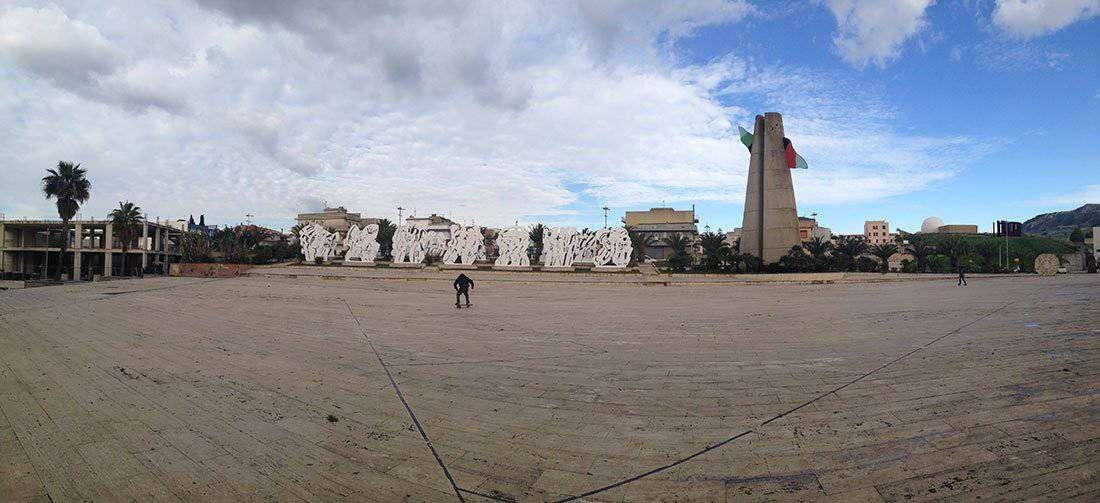 Gibellina - Piazza del Comune