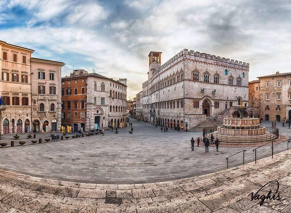 Perugia: Piazza IV Novembre - © Vaghis - Viaggi & turismo Italia - Tutti i diritti riservati