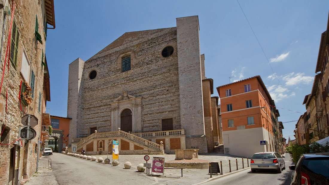 Perugia: Basilica di San Domenico
