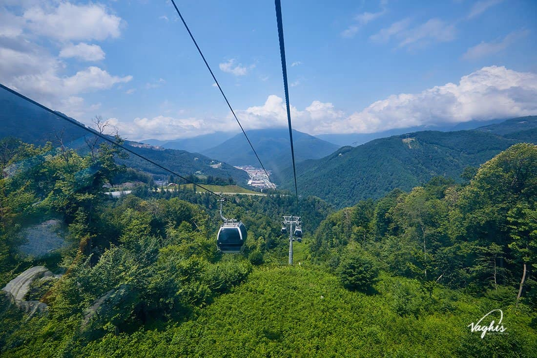 La zipline del Parco Avventura Mont Blanc- © Vaghis - Viaggi & turismo Italia - Tutti i diritti riservati
