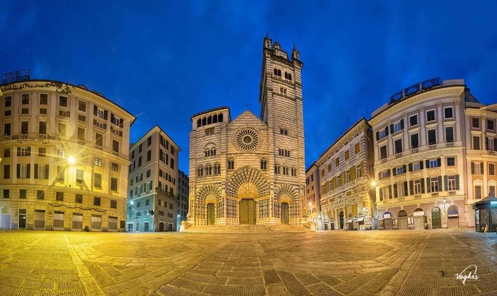 Cattedrale di San Lorenzo a Genova - © Vaghis - Viaggi & turismo Italia - Tutti i diritti riservati