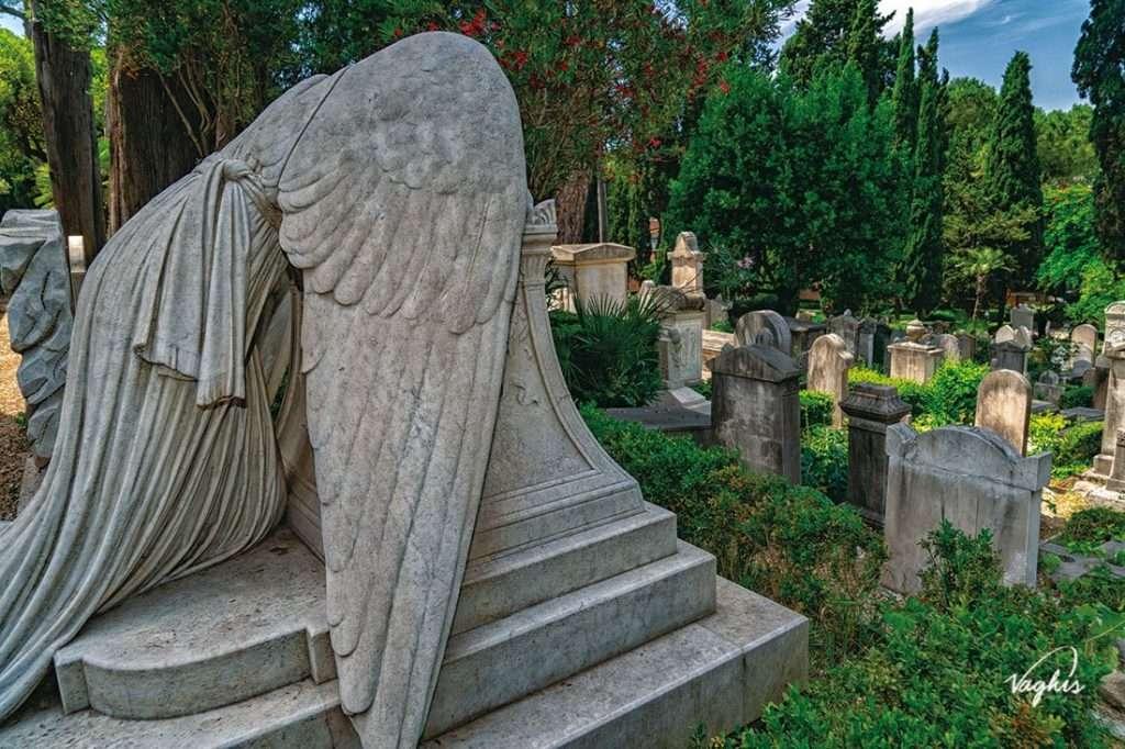 Cimitero Acattolico di Roma - © Vaghis - Viaggi & turismo Italia - Tutti i diritti riservati