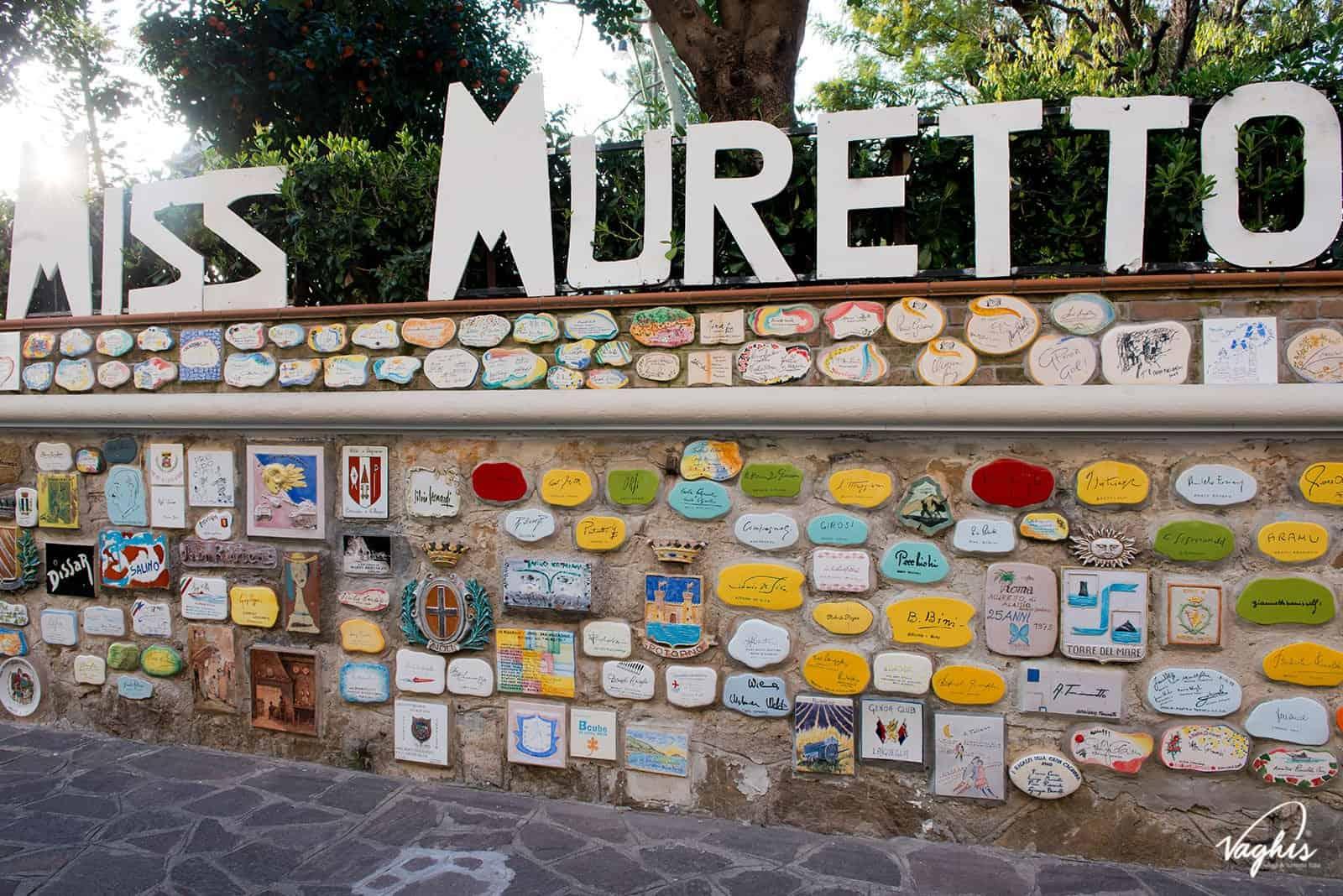 Muretto di Alassio - © Vaghis - Viaggi & turismo Italia - Tutti i diritti riservati