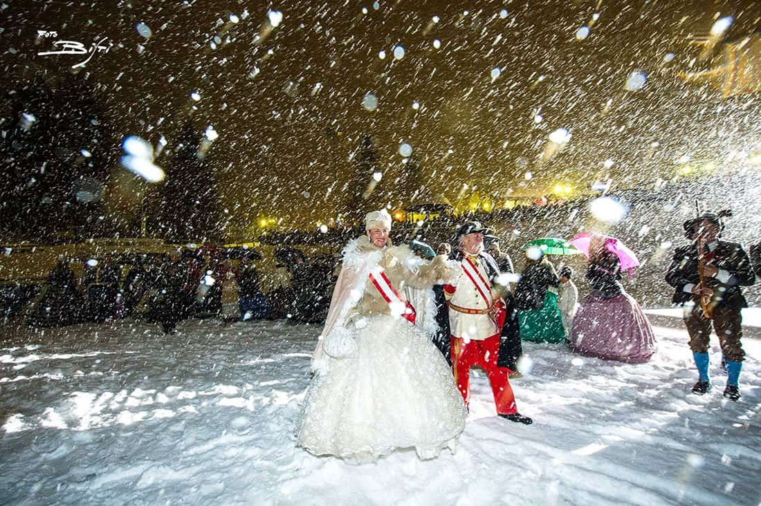 Carnevale Asburgico - © Fototeca Azienda per il Turismo Madonna di Campiglio Pinzolo Val Rendena, foto di P. Bisti