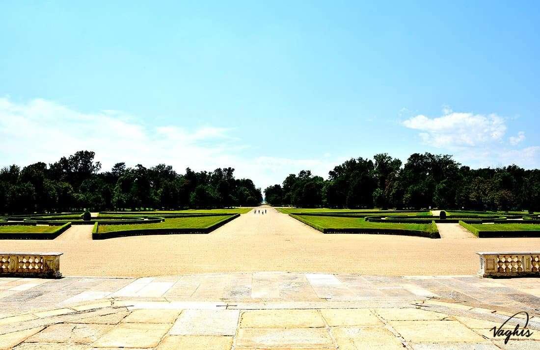 Palazzina di Caccia di Stupinigi: il giardino