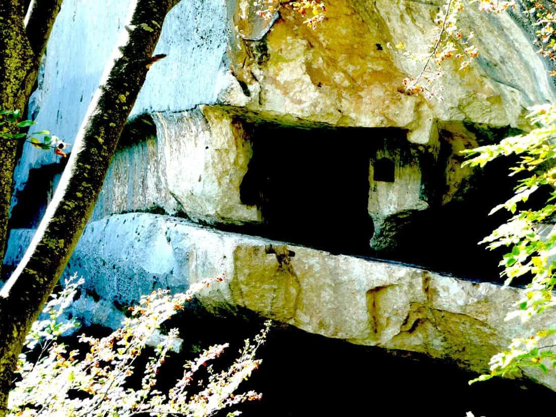 Caramanico Terme: eremo di San Giovanni all'Orfento