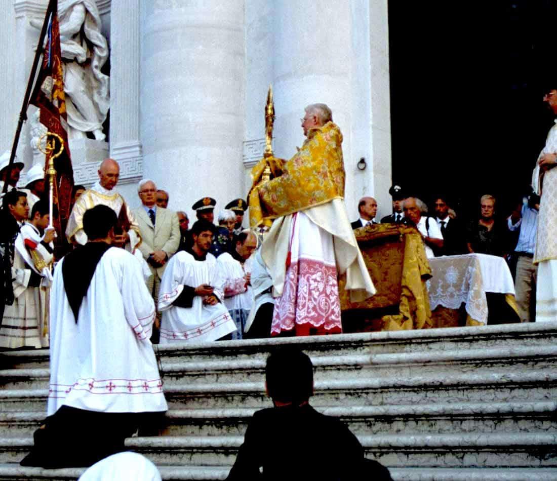 Festa del Redentore: benedizione del patriarca di Venezia