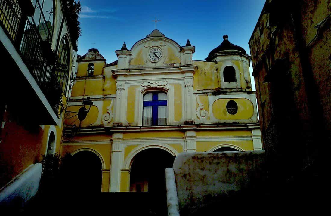 Albori: chiesa di Santa Margherita