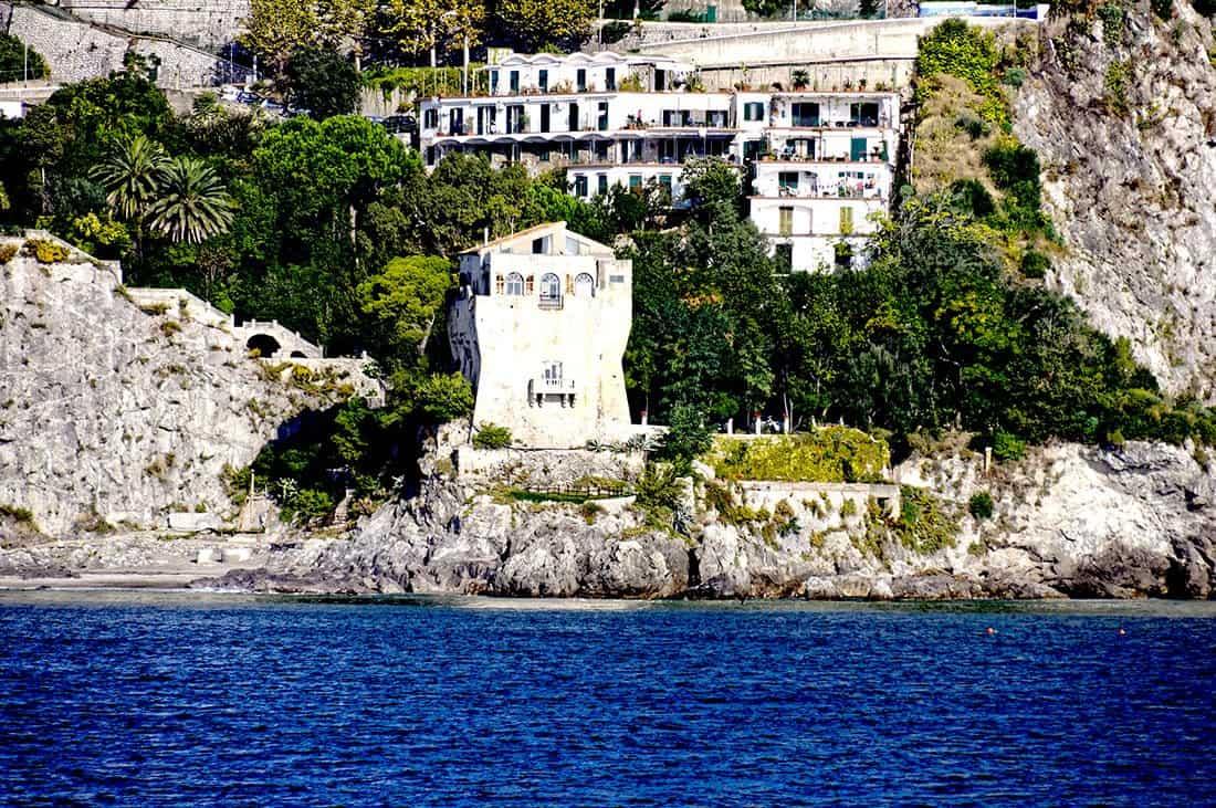 Albori: Marina: torre di avvistamento