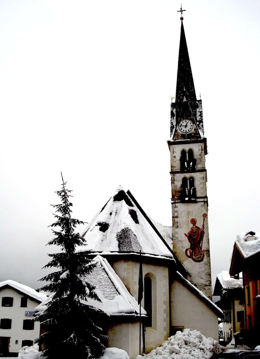 Alleghe: chiesa di San Biagio