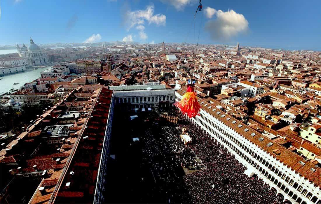 Carnevale di Venezia: volo dell'Angelo