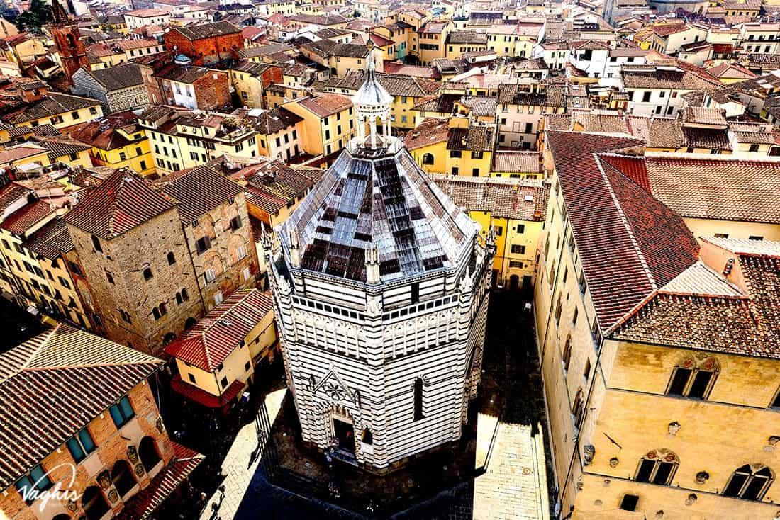 Pistoia:: Battistero di San Giovanni in Corte
