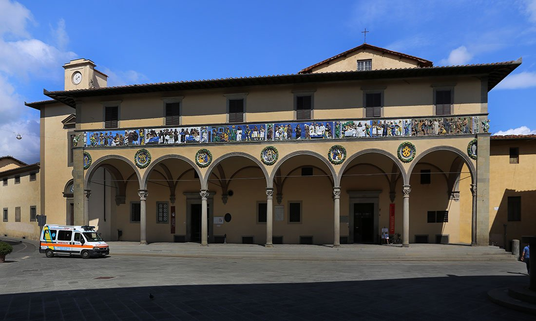 Pistoia: antico Ospedale del Ceppo