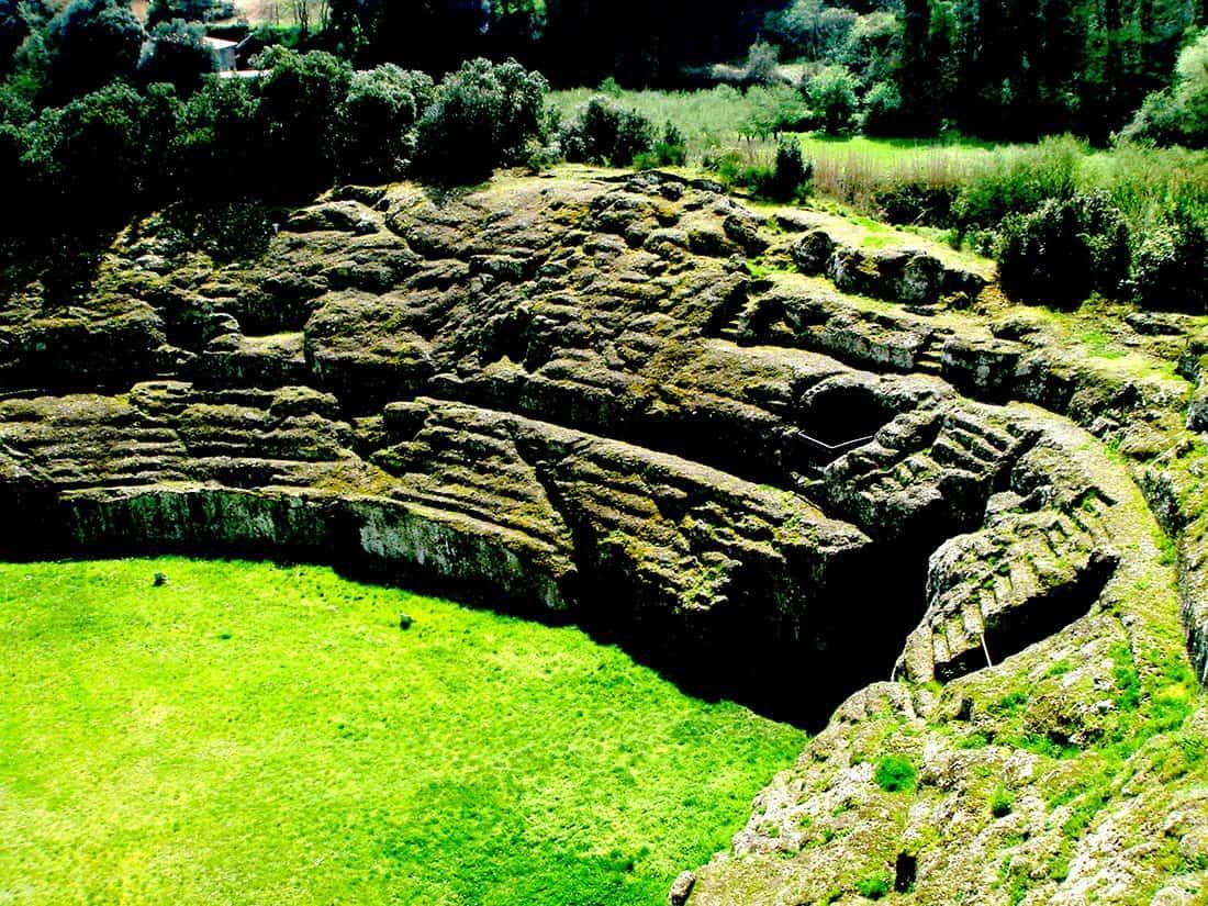 Sutri: Anfiteatro romano