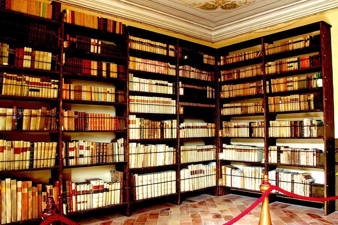 Recanati: Biblioteca Leopardi