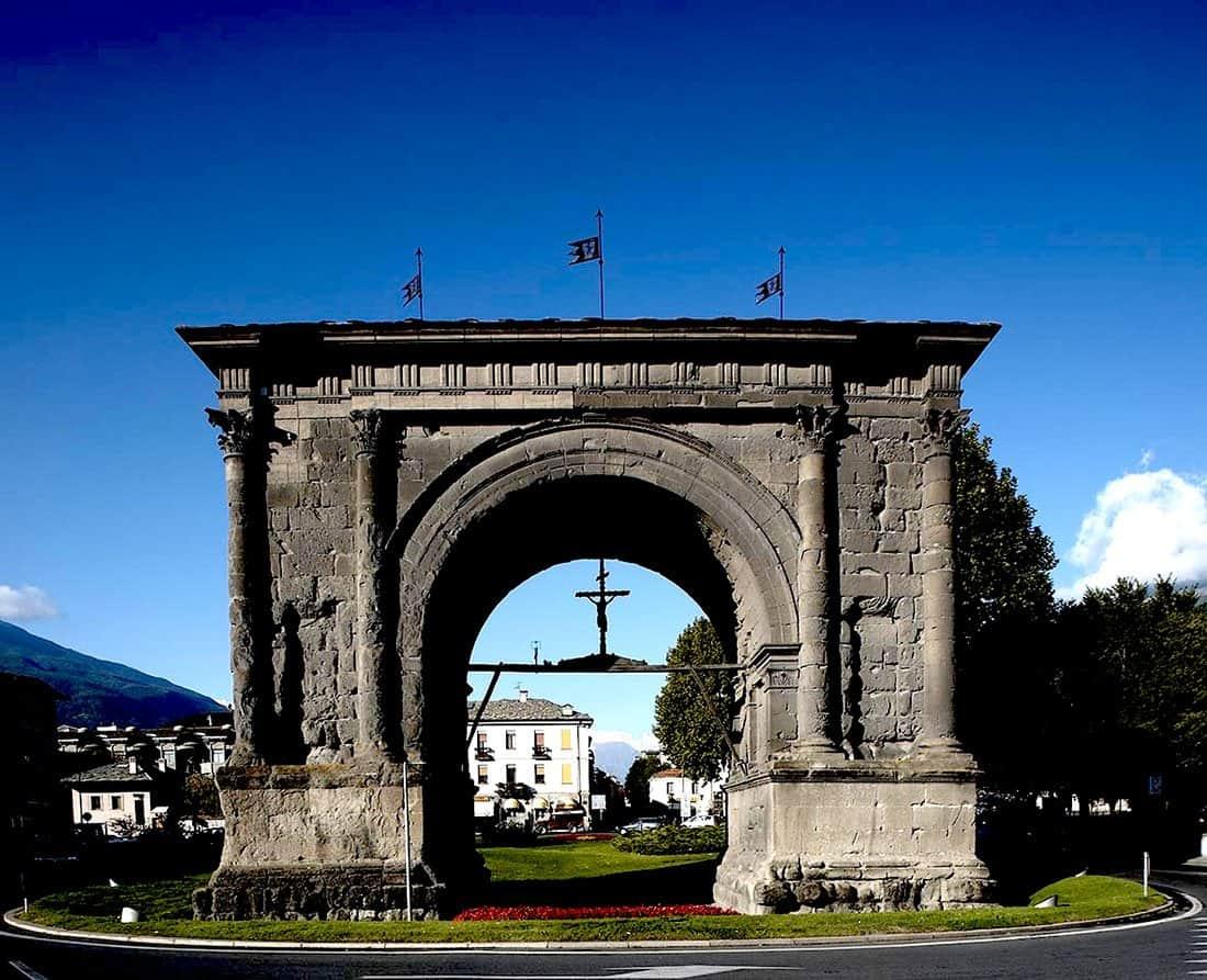 Aosta: Arco di Augusto