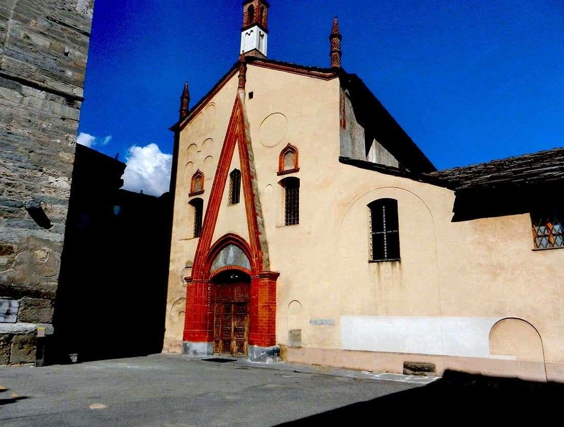 Aosta: Collegiata di Sant'Orso