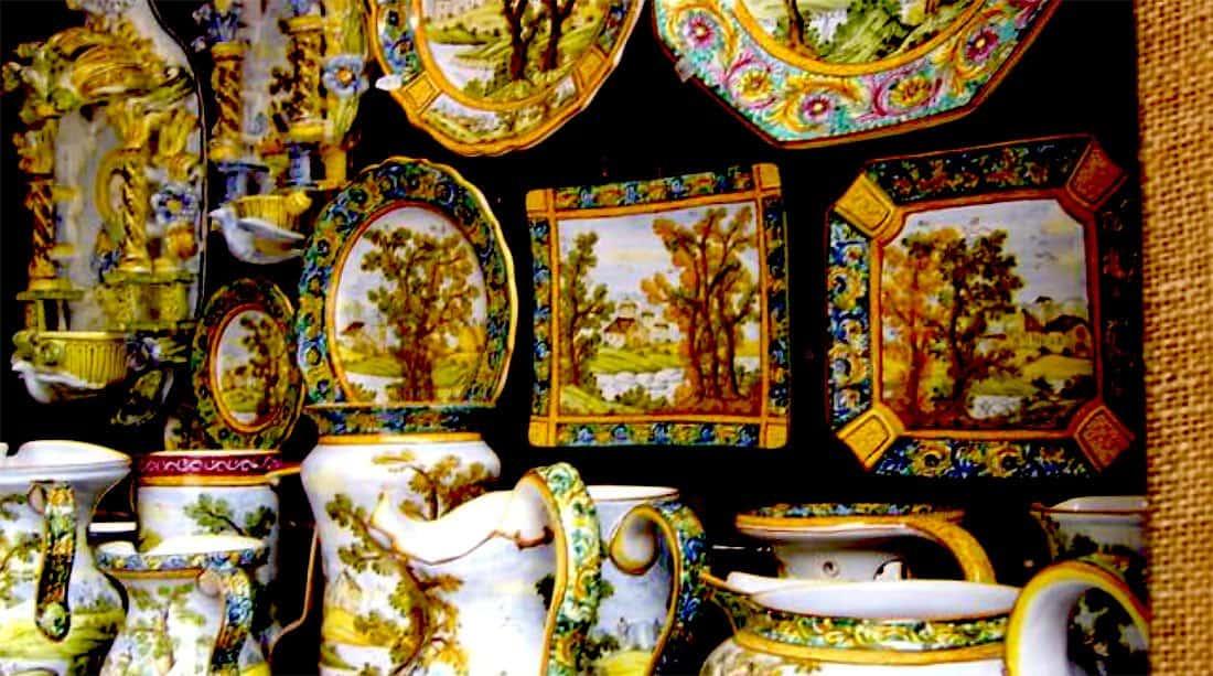 Castelli: le ceramiche