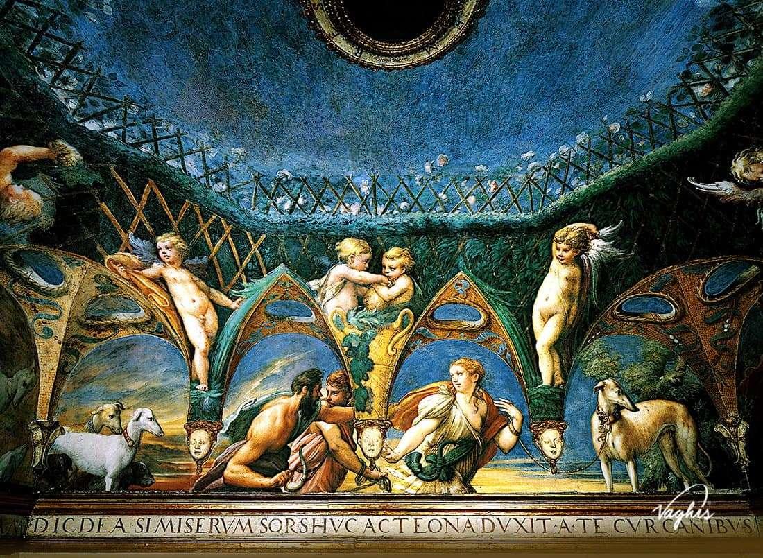 Rocca di Fontanellato: Affresco del Parmigianino