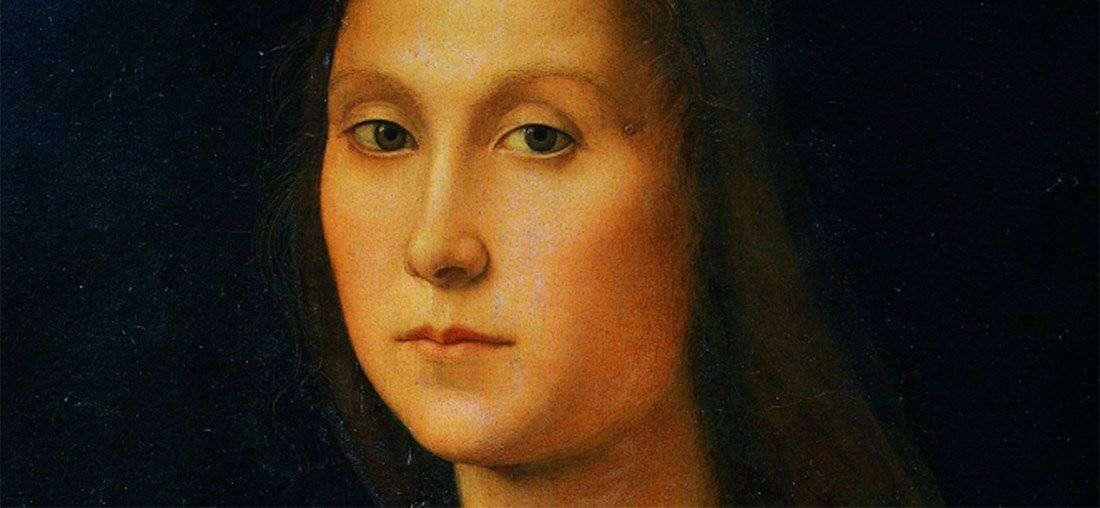 """Ritratto di Gentildonna - """"la muta"""""""