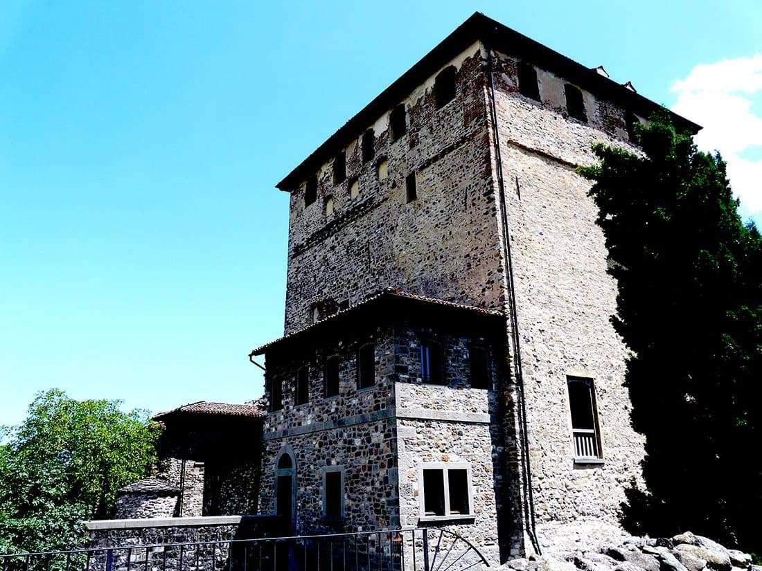 Bobbio: castello Malaspina dal Verme
