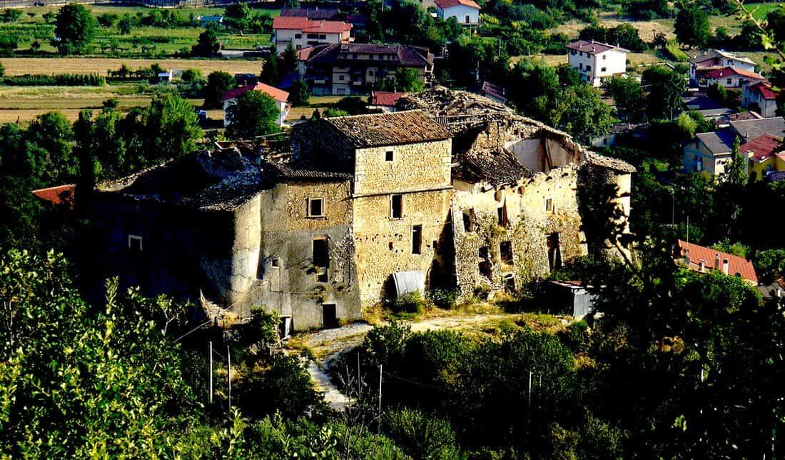 Bugnara: Il Castello