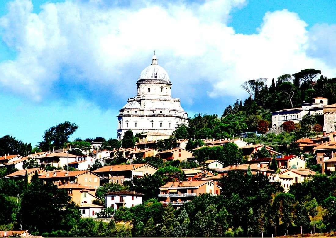 Todi: Tempio Santa Maria della Consolazione