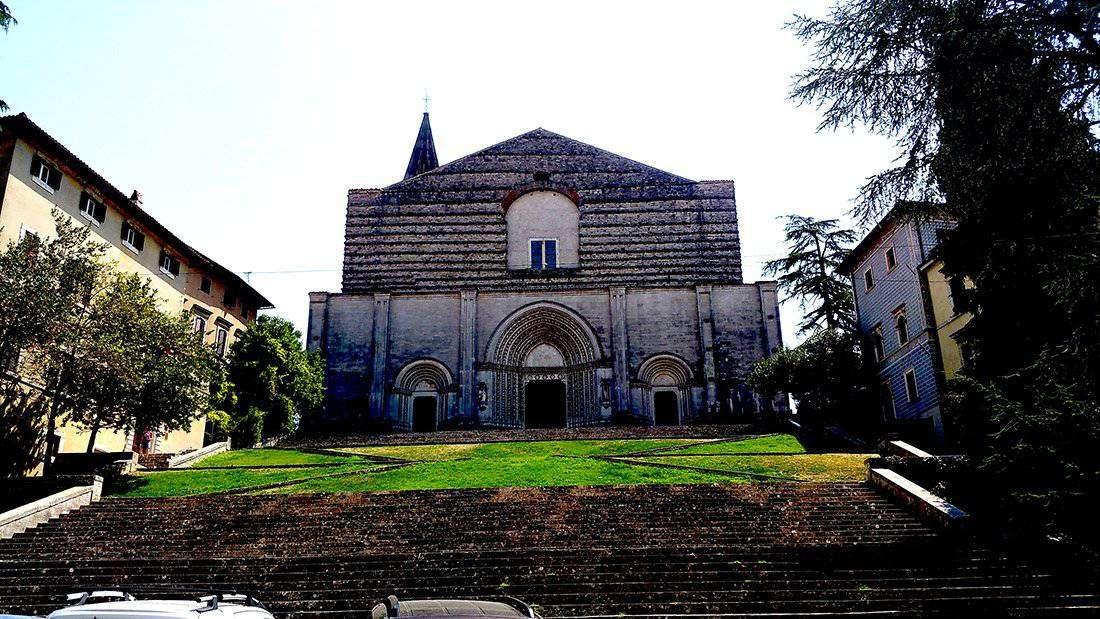 Todi: Chiesa di_san Fortunato