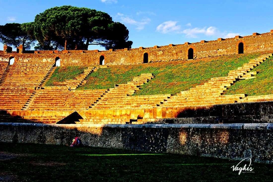 Pompei: Anfiteatro