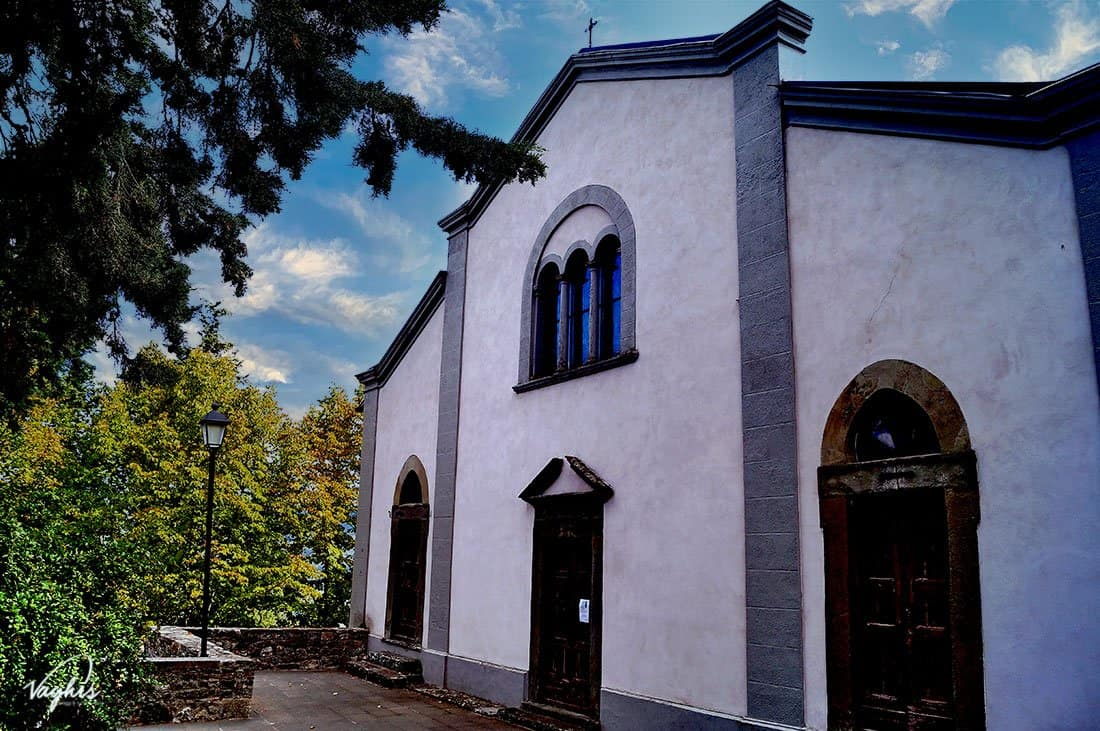 Montefioralle - Chiesa di Santo Stefano