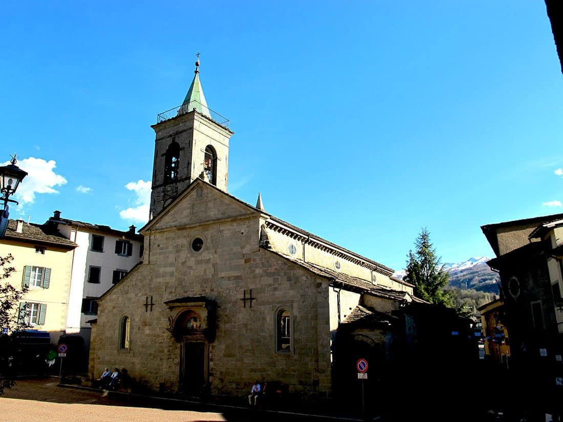 Fiumalbo: chiesa di S. Bartolomeo
