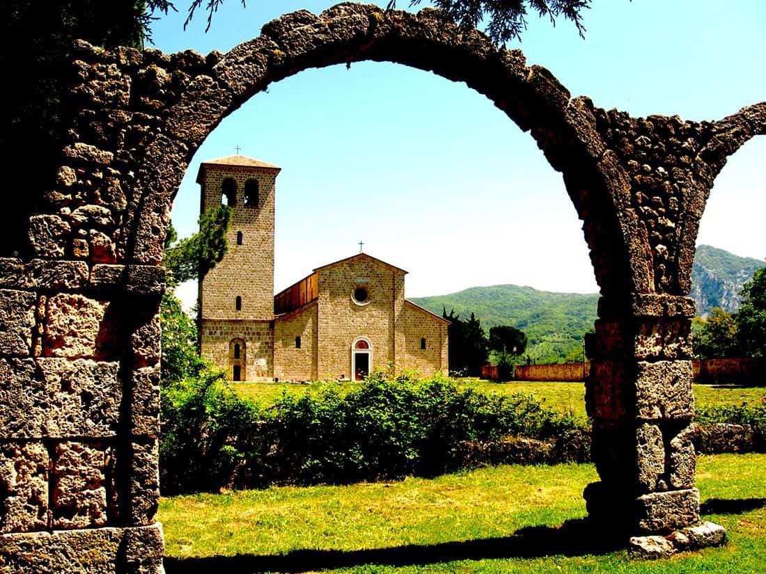Rocchetta a Volturno: Abbazia di San Vincenzo al Volturno
