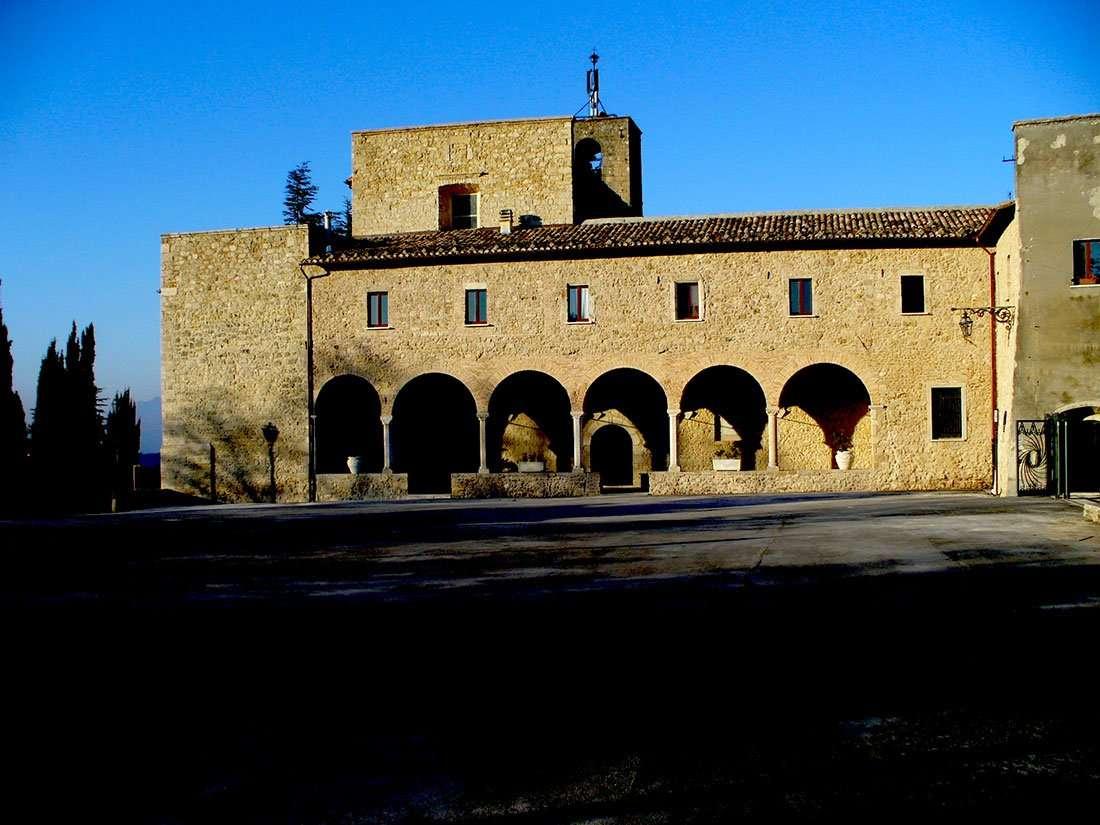 Civitella del Tronto - Santuario di Santa Maria dei Lumi
