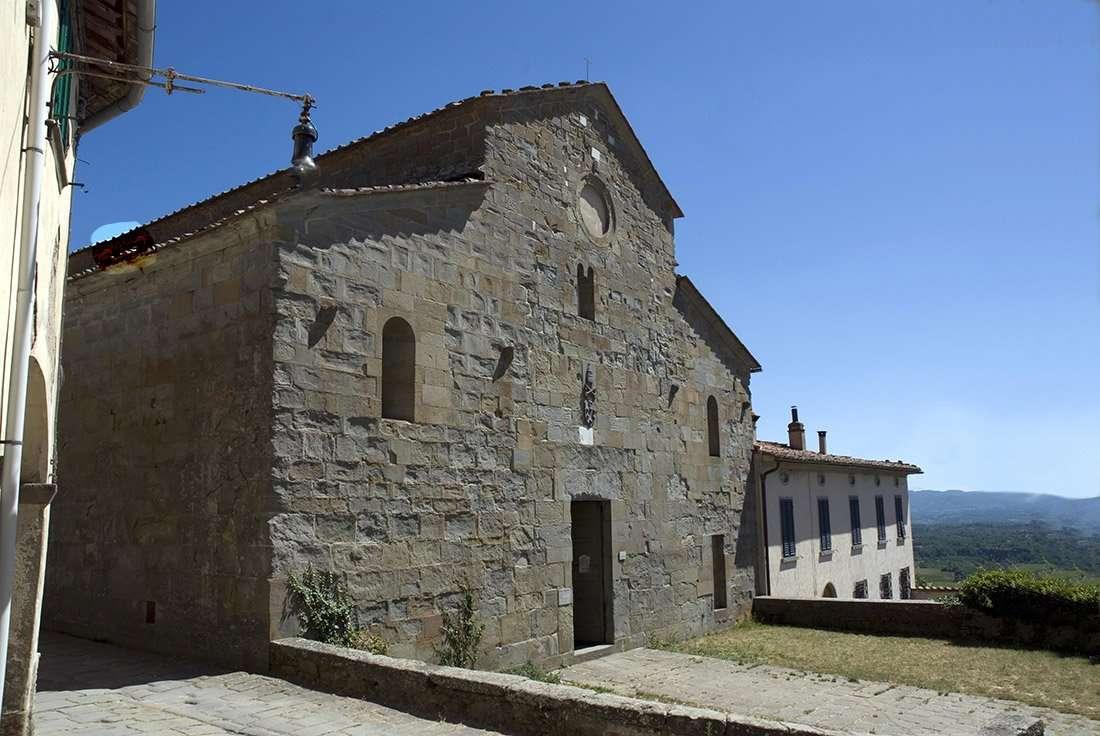 Loro Ciuffenna: Pieve di San Pietro a Gropina