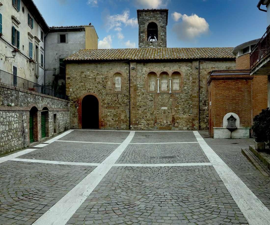 Allerona - Chiesa di Santa Maria Assunta