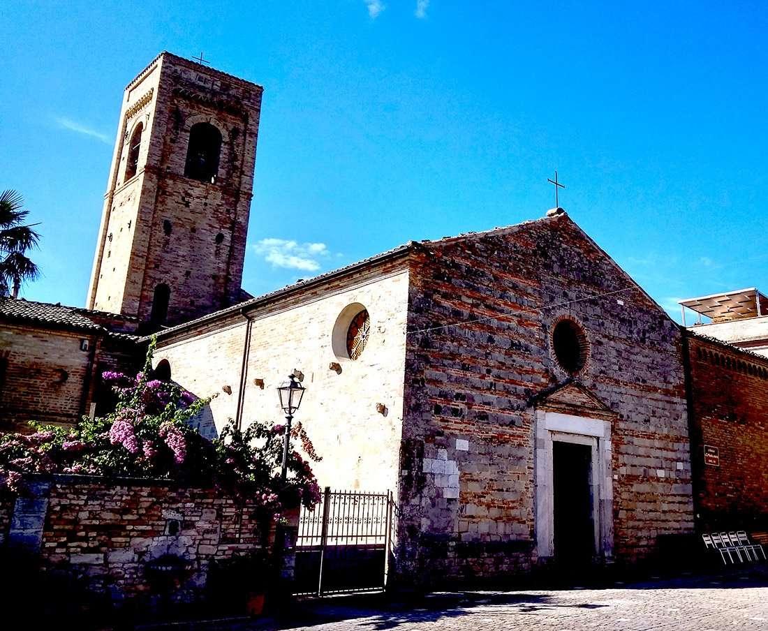 Torre di Palme - Chiesa di Santa Maria a Mare